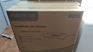 CAMPAÑA NUEVA MEPANSA COLOR ACERO INOXIDABLE
