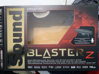 Tarjeta sonido Sound Blaster Z Hi-res