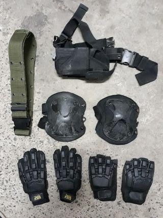 Material y accesorios de airsoft