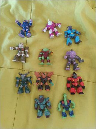 muñecos originales. bestias de combate.