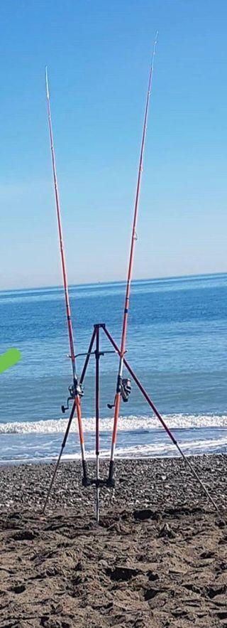 Cañas de pesca (equipo de surfcasting)