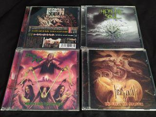 Pack Thrash- Death Metal (4 CD's)