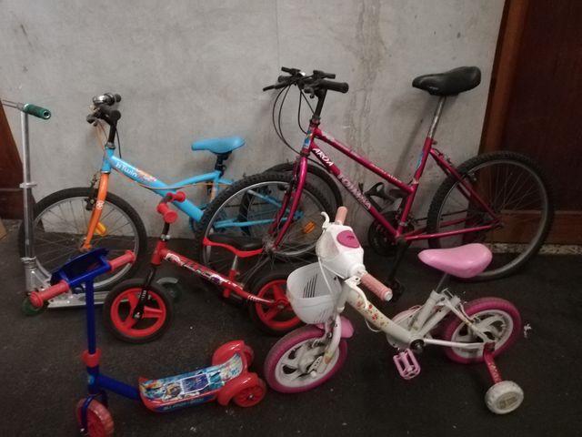 conjunto bicis