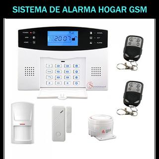 Kit Alarma Hogar/Negocio Gsm