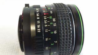 Objetivo D/B CAMERAS 1:2.8 35mm