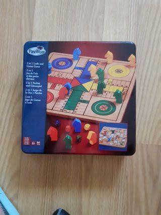 juego de mesa parchis y oca