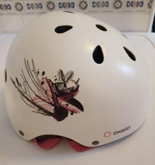 Casco roller para patines o bicicleta
