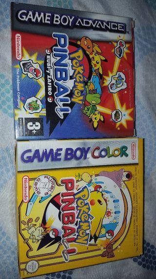 Pokemon Pinball 1,2 (vendidos)