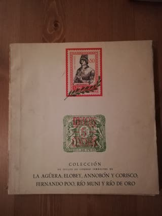 Album vacio,solo 10 sellos,Colonias Africa Dificil