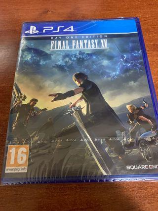 Final Fantasy XV 15 Ps4 Nuevo Precintado