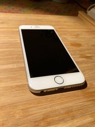 IPhone 6 64G plata. libre