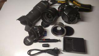 Camara Nikon D3300