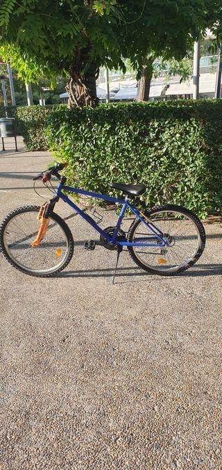 bicicleta decathlon 24 pulgadas suspencion
