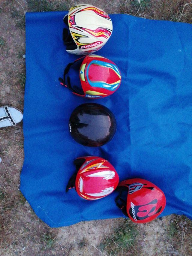 cascos de esquí