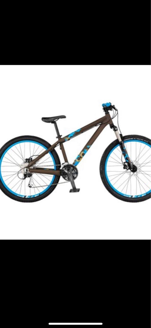 Scott voltage yz cambio x bici spinning o rodillo