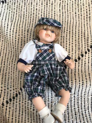 Muñecas porcelana estilo vintage