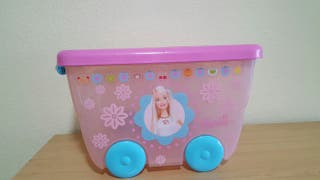 Caja BARBIE para guardar juguetes