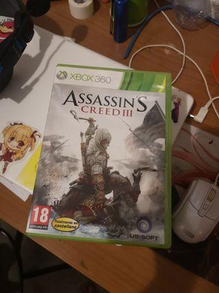 Assasin's Creed III / 3 Xbox 360