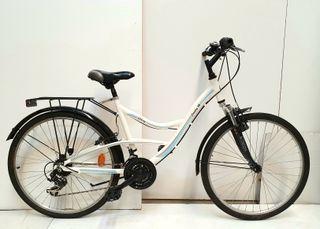 """Bicicleta paseo polivalente 26"""" Aluminio"""