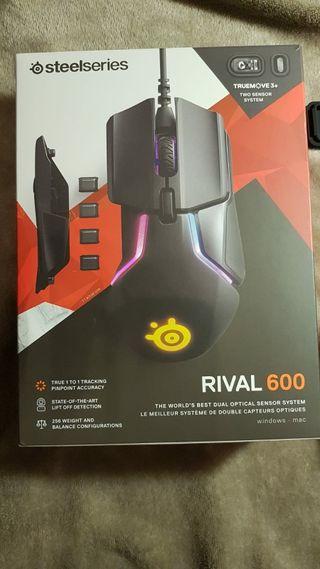 Ratón steelseries RIVAL 600