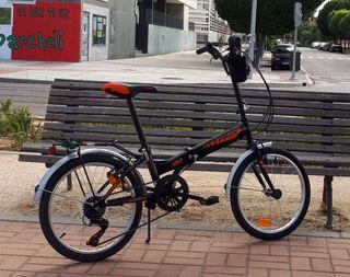 Bicicleta urbana.