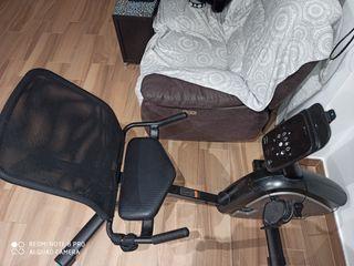 bicicleta estática asiento reclinado