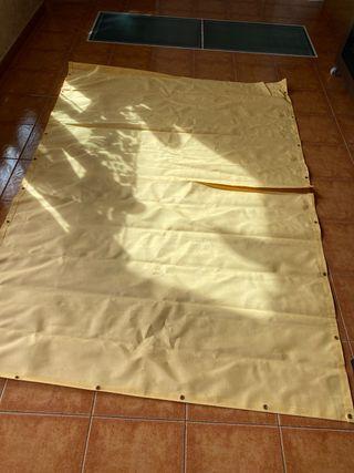 Retal de lona para cortina