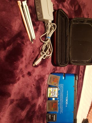 Nintendo 3DS+Funda+Juegos+Pack 3 Lápices ds...