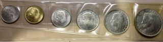 Monedas Mundial Fútbol 1982. 6 monedas