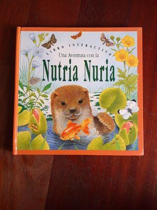 Libro Cuento infantil desplegable 3D SM nutria