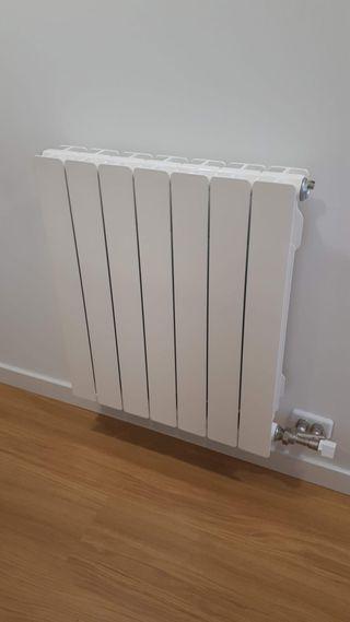 Radiador calefacción 7elementos