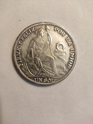 Peso Peruano un Sol 1893