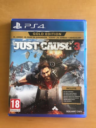 Just cause 3 gold edition para ps4