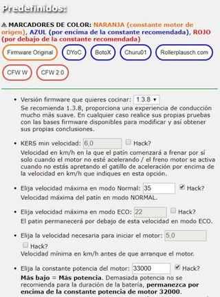 patinete xiaomi m365/ pro más velocidad