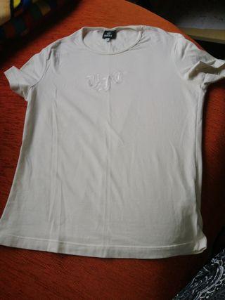 Camiseta blanca Versace vintage talla S