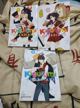 manga (Inglés) Kigurumi Guardians, Lily Hoshino