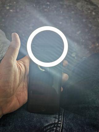 Anillo led para móviles y tablets, selfies
