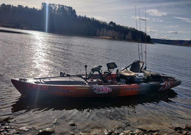 vendo kayak a pedales native titán 13.5