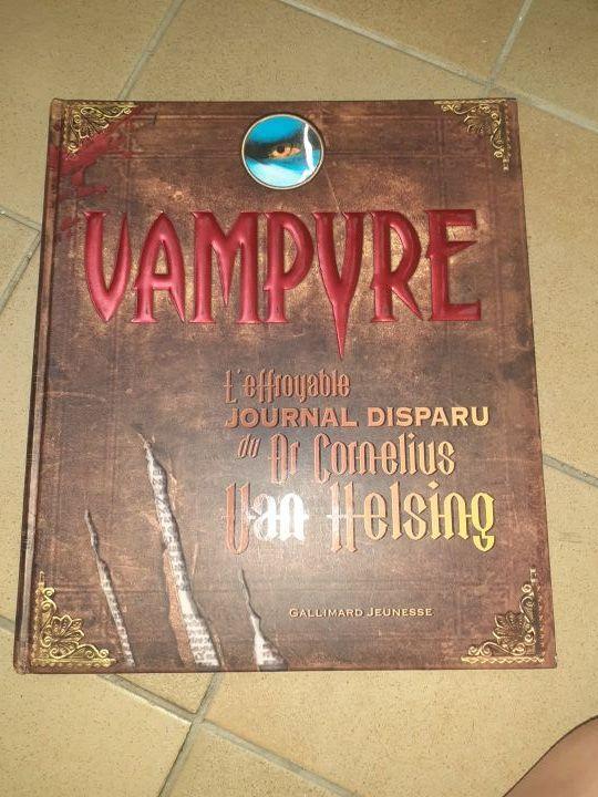 livre vampire de toucher