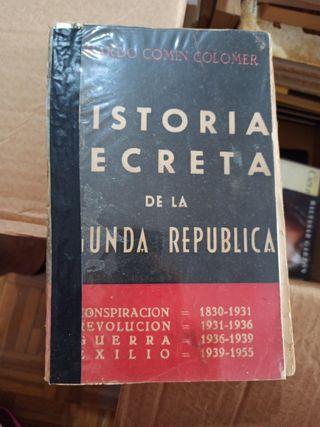 Historia secreta de la Segunda Republica