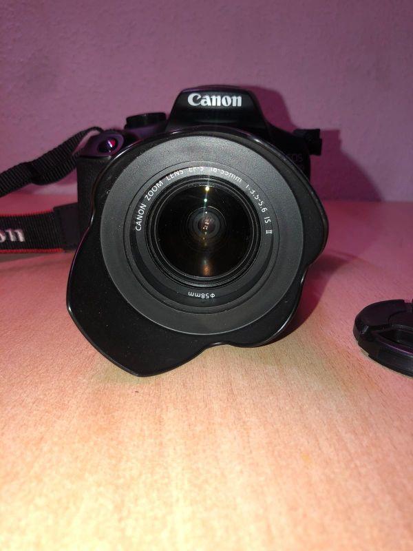 Cámara Canon EOS 1300D+Accesorios