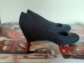 zapatos cuña talla 40