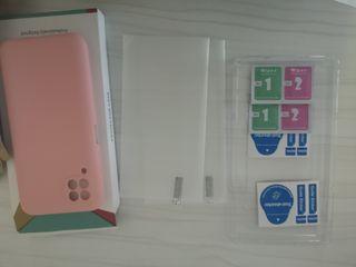 Funda y cristales templados Huawei p40 Lite