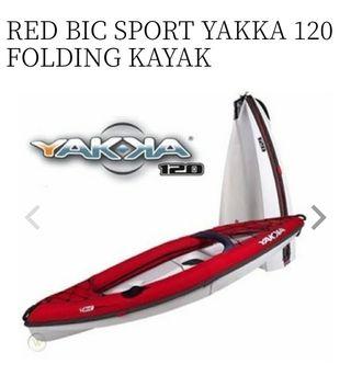 Kayak Plegable Bic