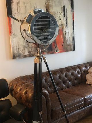 Lámpara de cine
