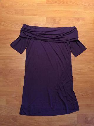 Camiseta de cuello barco
