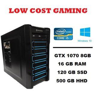 Pc Gaming Gtx 1070 8GB/I5-4670/16GB Ram/W10 pro