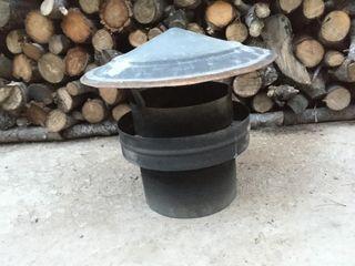 Caperuza / sombrerete y tubo