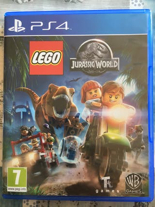 Juego LEGO Jurassic World PS4