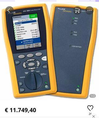Certificador redes Fluke Dtx1800